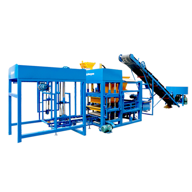 QT4-15S semi-auto brick making  machine