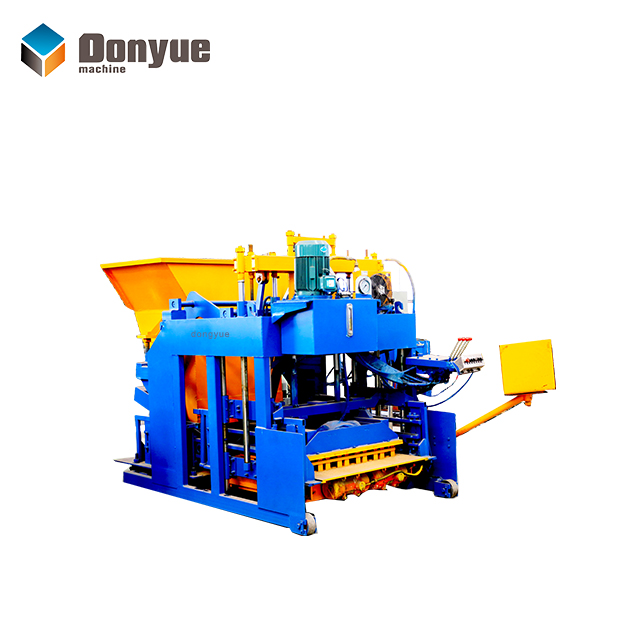 QTM10-15 Mobile block machine