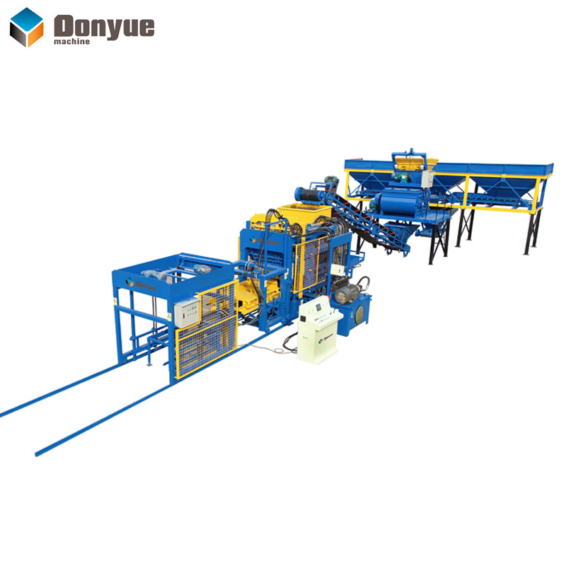 QT6-15 Automatic block production line